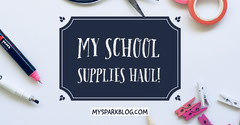 School Supply Blog Facebook Post Graphic Back to School