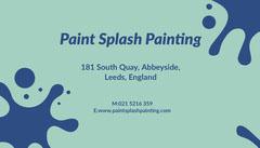Paint Splash Painting Paint
