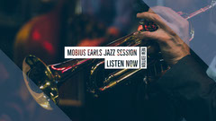White With Instrument Jazz Session Banner Jazz
