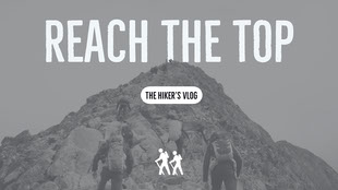 REACH THE TOP Banner do Tumblr
