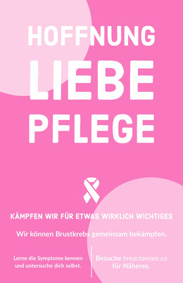 breast cancer poster Flyer