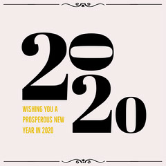 2020 numbers new year igsquare  New Year