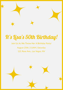 It's Lisa's 50th Birthday!