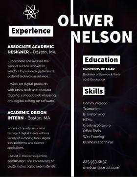 NELSON Currículum creativo