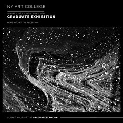 Greyscale Abstract Texture Art College Exhibition Instagram Square College
