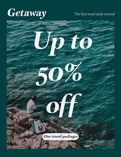 Emerald Green Getaway Travel Newsletter  Deal
