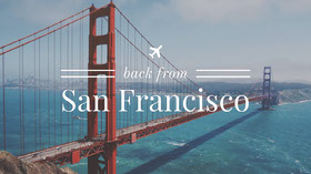 San Francisco YouTube channel art YouTube Banner