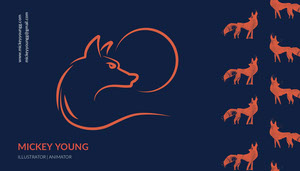 Mickey Young Business Card