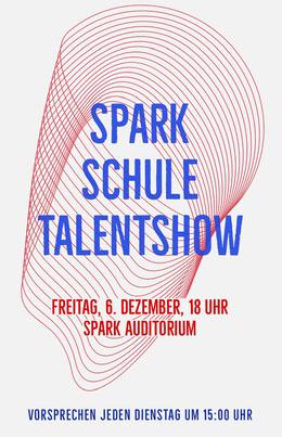 talent show school poster Flyer