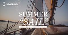 Light, Bright Toned Summer Sale Ad Facebook Banner Men