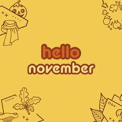 hello november instagram Hello