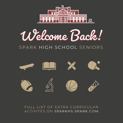 Welcome Back! Welcome Poster