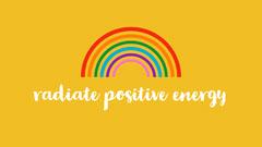 Positive Energy Desktop Wallpaper Rainbow
