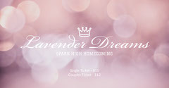 Light Toned Homecoming Dance Event Facebook Banner Event Banner