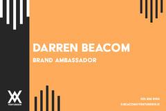 Orange Brand Ambassador Business Card Orange