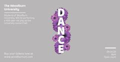 Dance Performance Dance Flyers