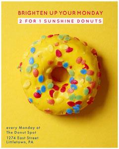 Yellow Donut Sunshine Yellow Igportrait  Donut