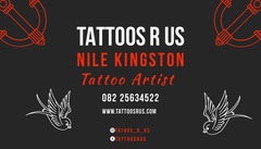 TATTOOS R US Tattoo Flyer