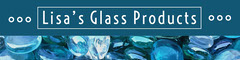 Lisa's Glass Products Blue