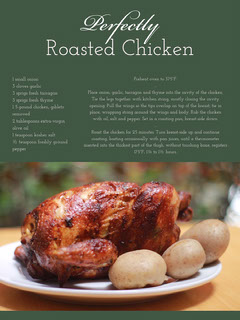 Green Roasted Chicken Recipe Card Recipes