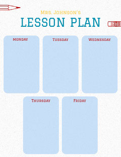 LESSON PLAN Back to School