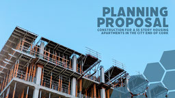 Construction Planning Proposal Presentation Cover
