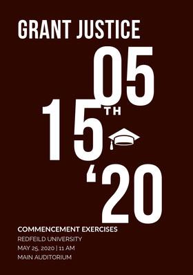 15 Graduation Invitation