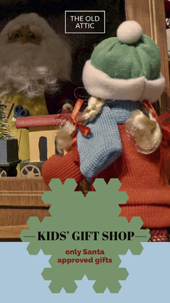 — KIDS' GIFT SHOP— Shopping
