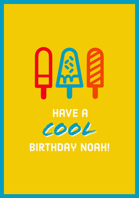 Yellow Birthday Card For Man  Bachelorette Party Invitation