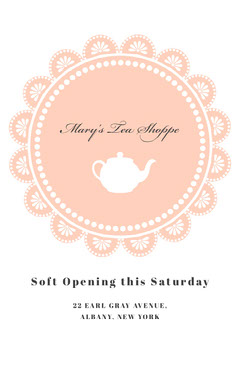 Mary's Tea Shoppe Tea Time