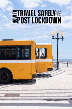 Travel Safely Post Lockdown Pinterest Guide