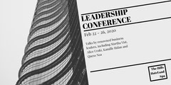 Gray Skyscraper Business Leadership Conference Event Eventbrite Banner Event Banner