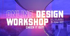 Purple Windows Design Workshop Facebook Post Workshop