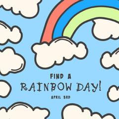 Find a Rainbow Day Rainbow