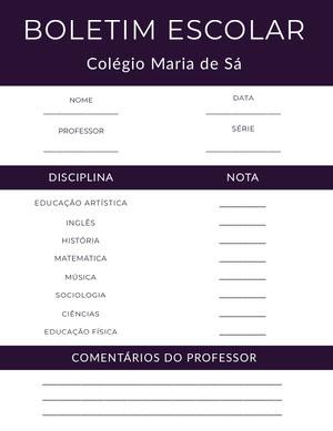 academy report cards  Fichamento