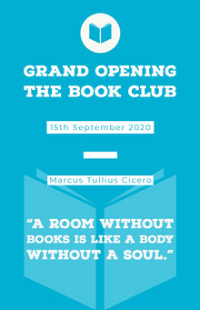Grand Opening<BR>The book club