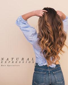Pink Simple Natural Expression Hair Specialist Instagram Portrait Beauty Salon