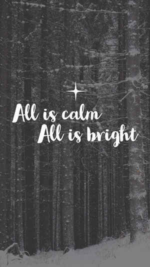 Grey and White, Light Toned, Christmas Quote, Wallpaper Quote Wallpaper