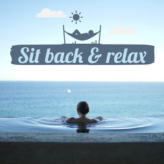 sit back relax igsquare  Water