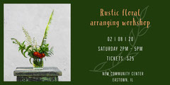 floral workshop eventbrite banner Workshop