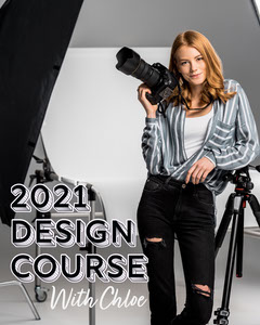 Black & White Minimal Design Course Instagram Portrait Educational Course
