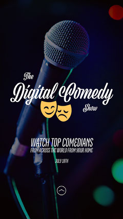 Microphone Photo Comedy Show Live Stream Instagram Story Stream