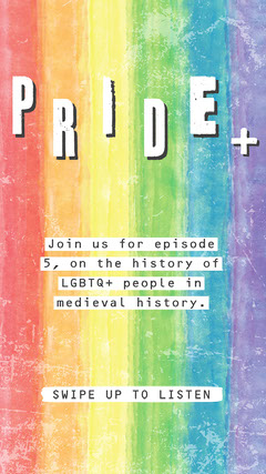 Rainbow LGBT Pride Podcast Instagram Story History
