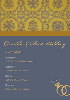 Camille & Fred Wedding  Weddings