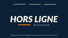 blue and orange twitch banner  Bannière Twitch