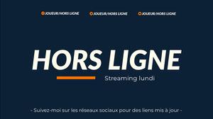 blue and orange twitch banner  Bannière