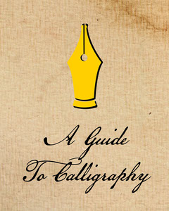 Yellow Calligraphy Guide Instagram Portrait Tutorial