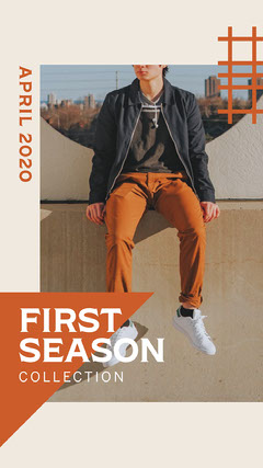 First Season Collection Instagram Story Clothing
