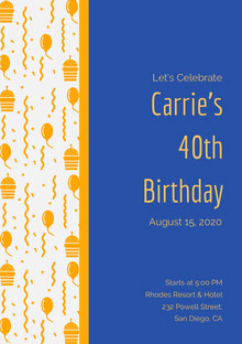 Carrie's <BR>40th <BR>Birthday