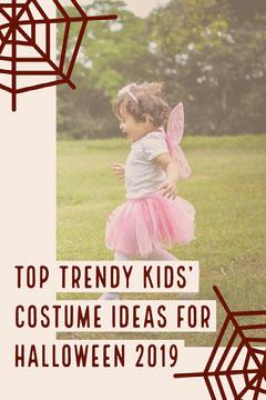 Top Trendy Kids' Costume Ideas for Halloween 2019 Kids